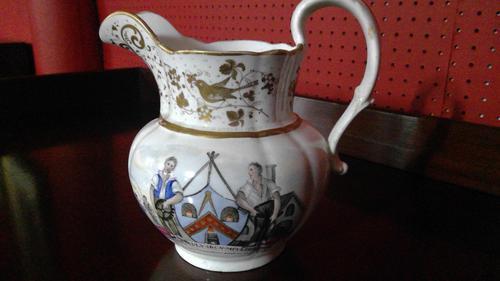 Rare Early Documentary Trade Union Jug c.1815-1820 (1 of 8)