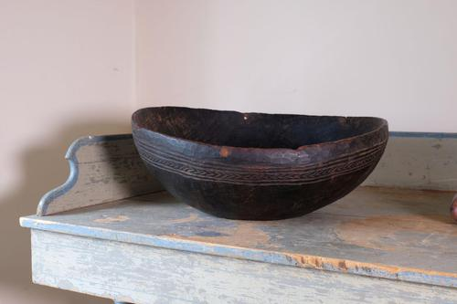 Papua New Guinea Bundi Carved Wooden Bowl (1 of 10)