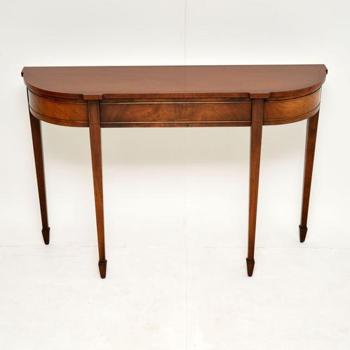 Antique Georgian Style Mahogany Console  Table (1 of 8)
