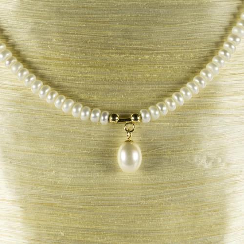Vintage Seed Pearl Necklace With 14ct. Fastening (1 of 3)