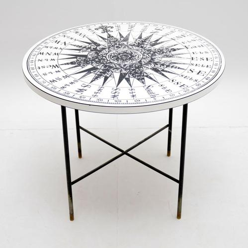 1960's Vintage Fornasetti Style Coffee Table (1 of 8)