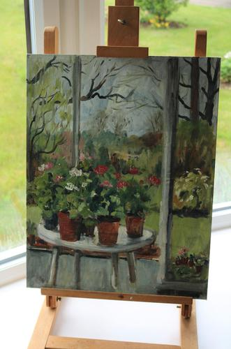 In the Conservatory by Diana Perowne (1 of 7)