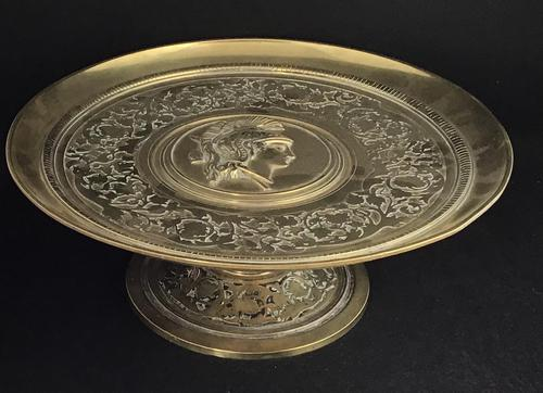 Aesthetic Movement Brass Tazza (1 of 5)