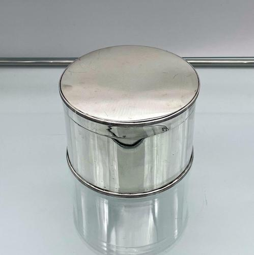 Antique George V Sterling Silver Biscuit Box Edinburgh 1922 Hamilton & Inches (1 of 8)