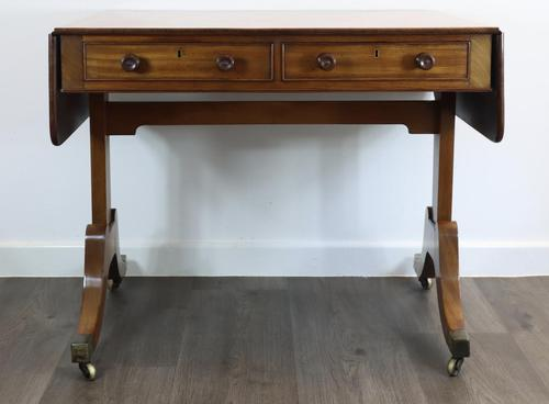 Solid Mahogany 1820s Sofa Table (1 of 7)