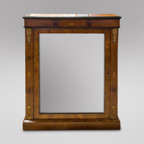 Walnut Pier Cabinet (1 of 5)