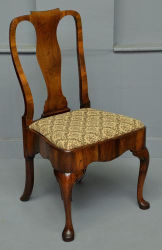 George II Walnut Side Chair c.1730 (1 of 12)