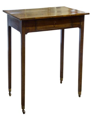 Small George III Mahogany Centre Table (1 of 8)