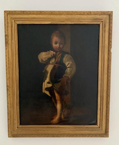 Early 19th Century Italian Oil on Canvas (1 of 5)