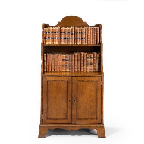 Small Regency Period Two Door Cupboard (1 of 7)
