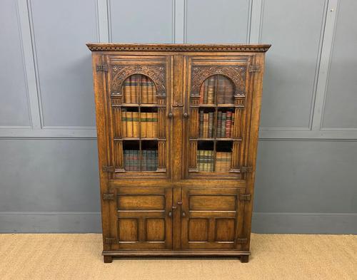 Ipswich Oak Bookcase c.1930 (1 of 13)