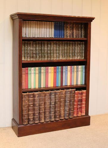 Oak Open Bookcase (1 of 11)