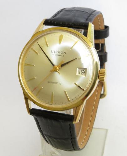 Gents 1970s Legion Automatic Wrist Watch (1 of 4)