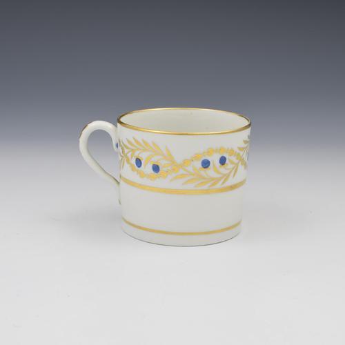 Coalport Porcelain Coffee Can c.1805 Pattern 384 (1 of 6)