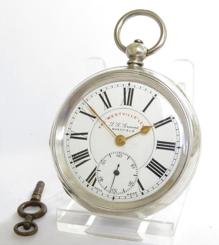 """""""Westville"""" Lever Pocket Watch by J G Graves of Sheffield (1 of 5)"""