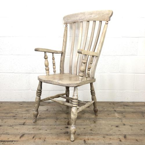 Victorian Ash and Elm Country Armchair (1 of 10)