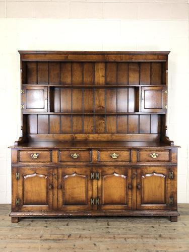Large 20th Century Georgian Style Oak Dresser (1 of 23)