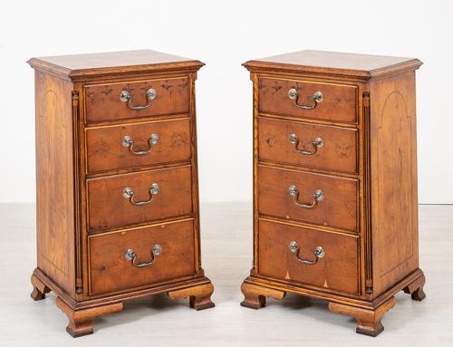 Pair of Yew Wood Oyster Chests (1 of 10)