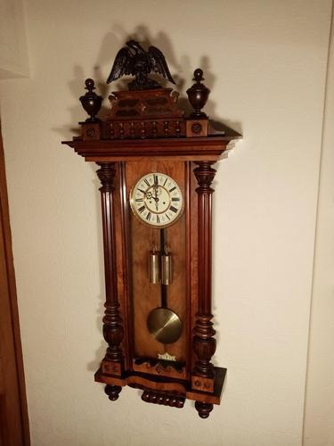 Gustav Becker Vienna Wall Clock (1 of 7)