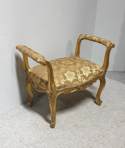 Excellent Quality Louis XV Stool (1 of 13)