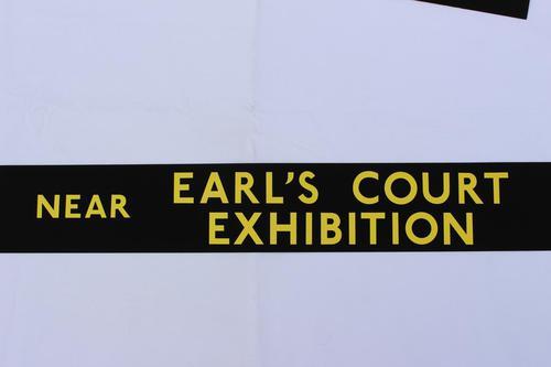 London Transport Slipboard Poster for Earl's Court (1 of 1)