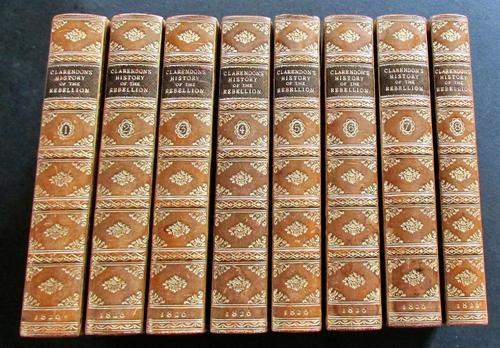 1826 History of the Rebellion & Civil Wars in England Earl of Clarendon Complete in 8 Volumes (1 of 4)