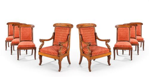 Fine Set of Eight William IV Period Chairs (1 of 3)