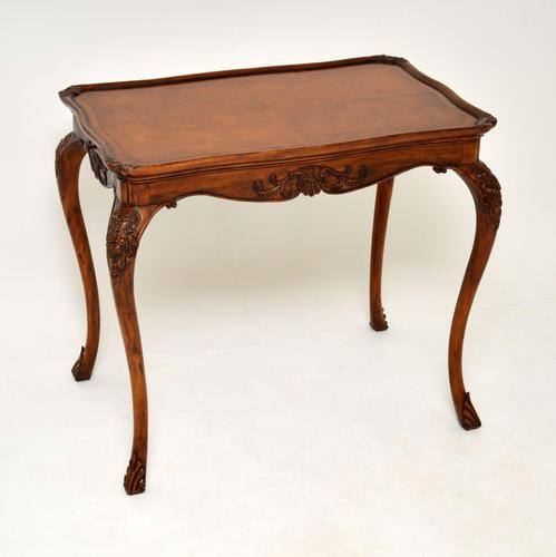 Antique French Carved Satinwood Occasional Table (1 of 12)