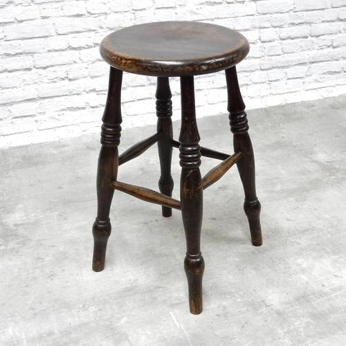 19th Century Tavern / Kitchen Stool (1 of 7)