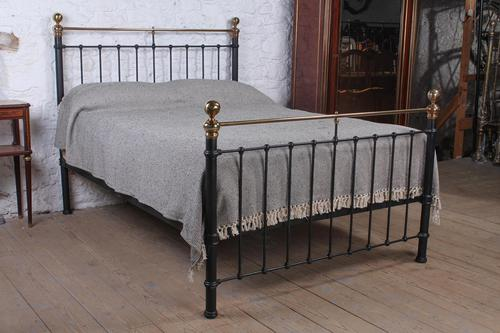Classic Victorian English King Size Bedstead (1 of 7)