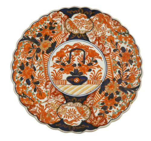 Japanese Meiji Period Imari Plate (1 of 5)