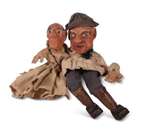 Papier Mache Puppets (1 of 4)