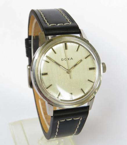 Gents 1960s Doxa Wrist Watch (1 of 5)
