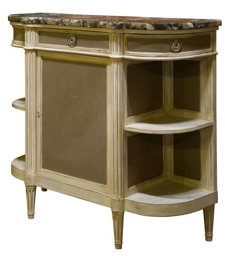 French Painted Cabinet c1920 (1 of 5)