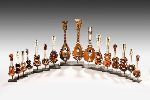 Collection of 19th Century Miniature Instruments (1 of 6)