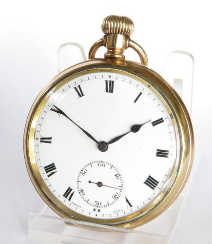 1920s Henry Sandoz Admiral Pocket Watch (1 of 5)