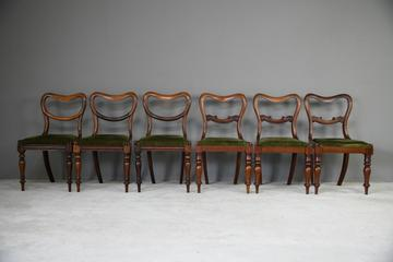 6 Harlequin Victorian Rosewood Dining Chairs (1 of 11)