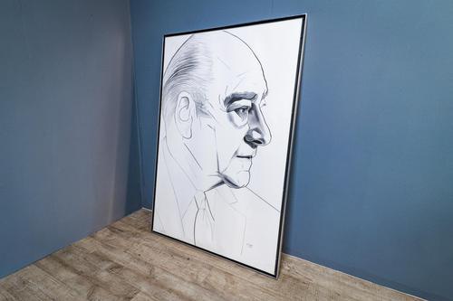 Large Portrait of Edward Gold 1975 (1 of 9)