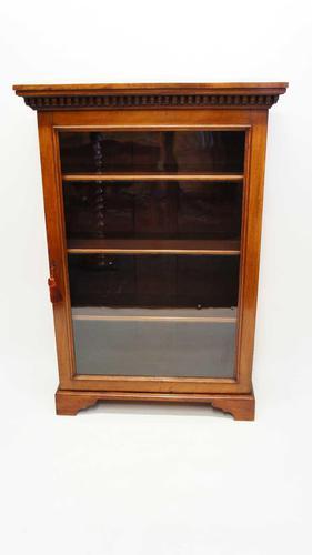 Good Quality Early Victorian  Walnut Glazed Bookcase (1 of 20)