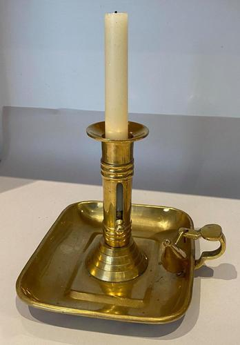 Brass Chamber Candle Holder - Go to Bed (1 of 5)
