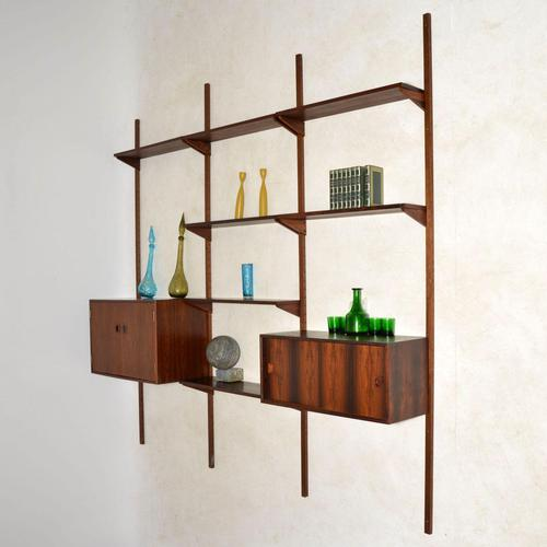 1960's Vintage Danish Rosewood PS Shelving System (1 of 13)