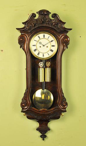 Dwarf Vienna Regulator Wall Clock - Schonberger in Wein (1 of 11)