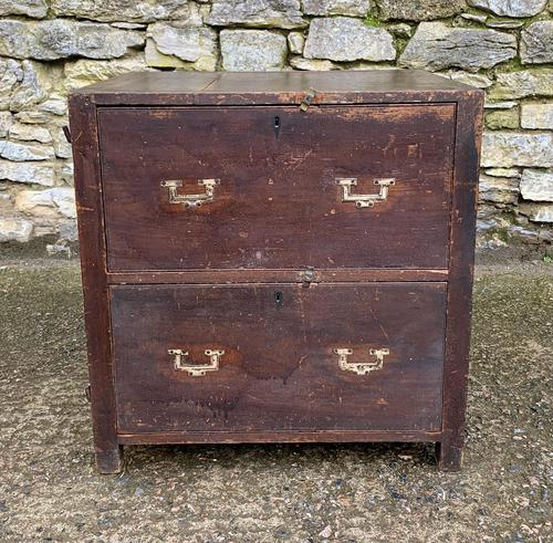 Antique Ship's Cabin Chest of Drawers (1 of 17)