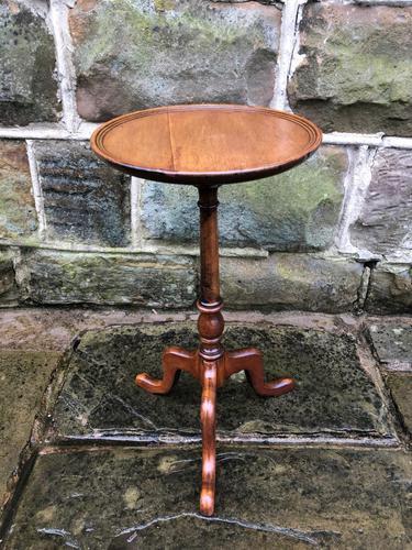 Antique Mahogany Tripod Wine Table (1 of 6)
