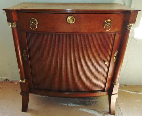Dutch Empire Oak Side Cabinet (1 of 10)