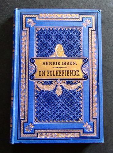 1882 1st Edition En Folkefiende by Henrik Ibsen (1 of 5)