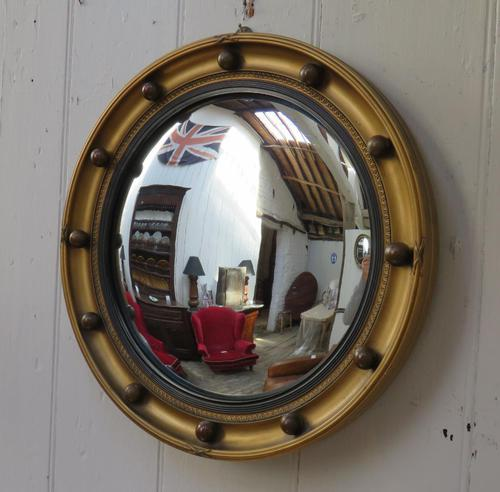 Butlers Porthole Fish Eye Convex Wall Mirror (1 of 8)