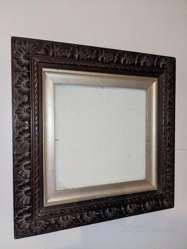 Carved Beech Picture / Mirror Frame (1 of 2)