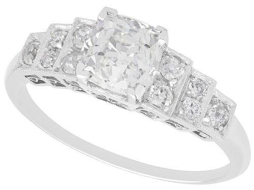 1.33ct Diamond & Platinum Dress Ring (1 of 9)