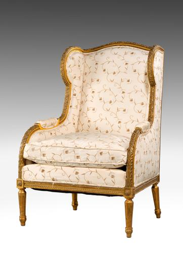 Late 19th Century Giltwood Chair (1 of 7)